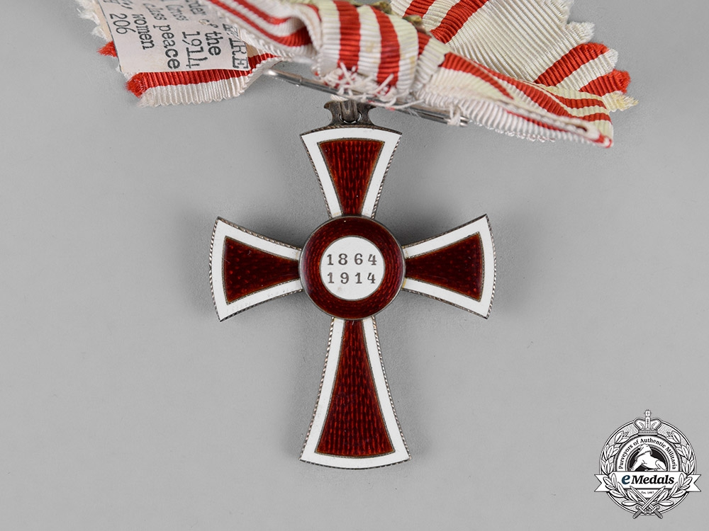 Austria, Empire. An Honour Decoration of the Red Cross, First Class for Ladies, c.1915