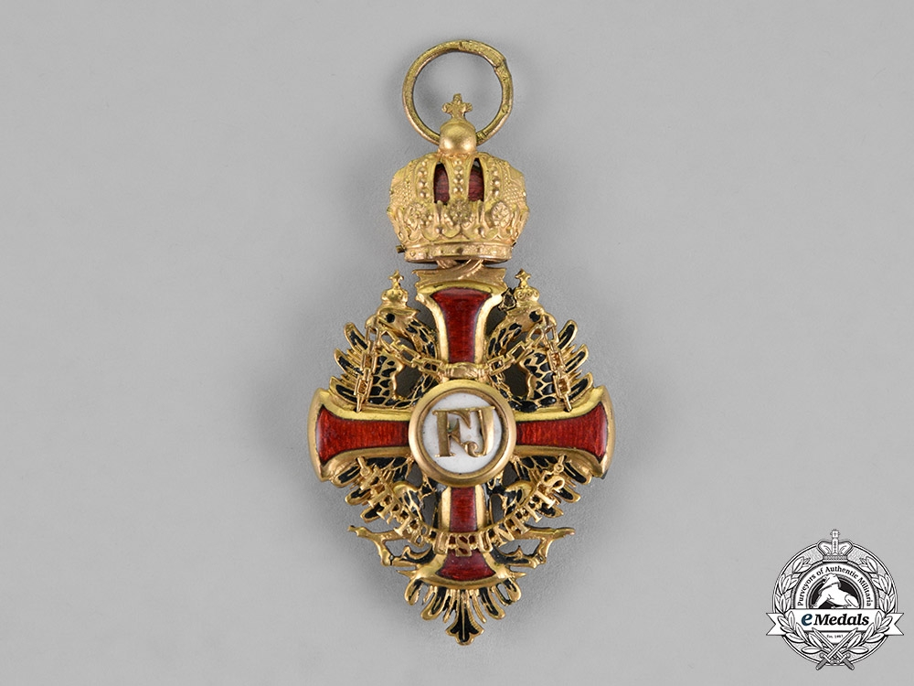 Austria, Empire. An Order of Franz Joseph, Knight's Cross with Commander's Small Decoration, c.1917