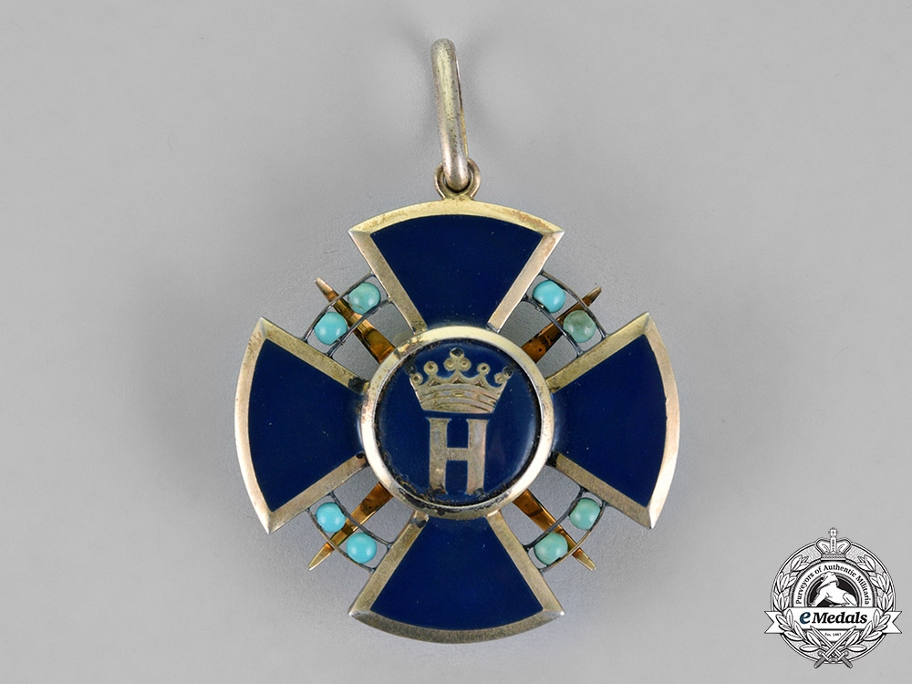 Hesse-Darmstadt, Grand Duchy. An Order of the Star of Brabant, Dame of the Honour Cross, c.1914