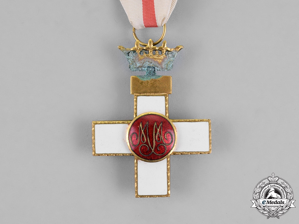 Spain, Franco Period. An Order of Military Merit, White Distinction Pension, 1st Class Cross, c.1950