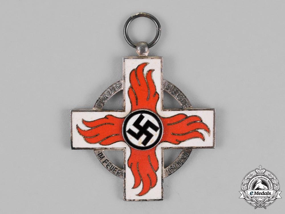 Germany. A Fire Brigade Service Cross; Second Class