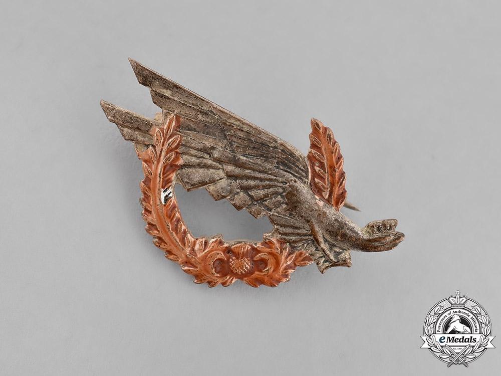 Poland, Republic. A 1st Kadrowa Rifle Brigade Badge