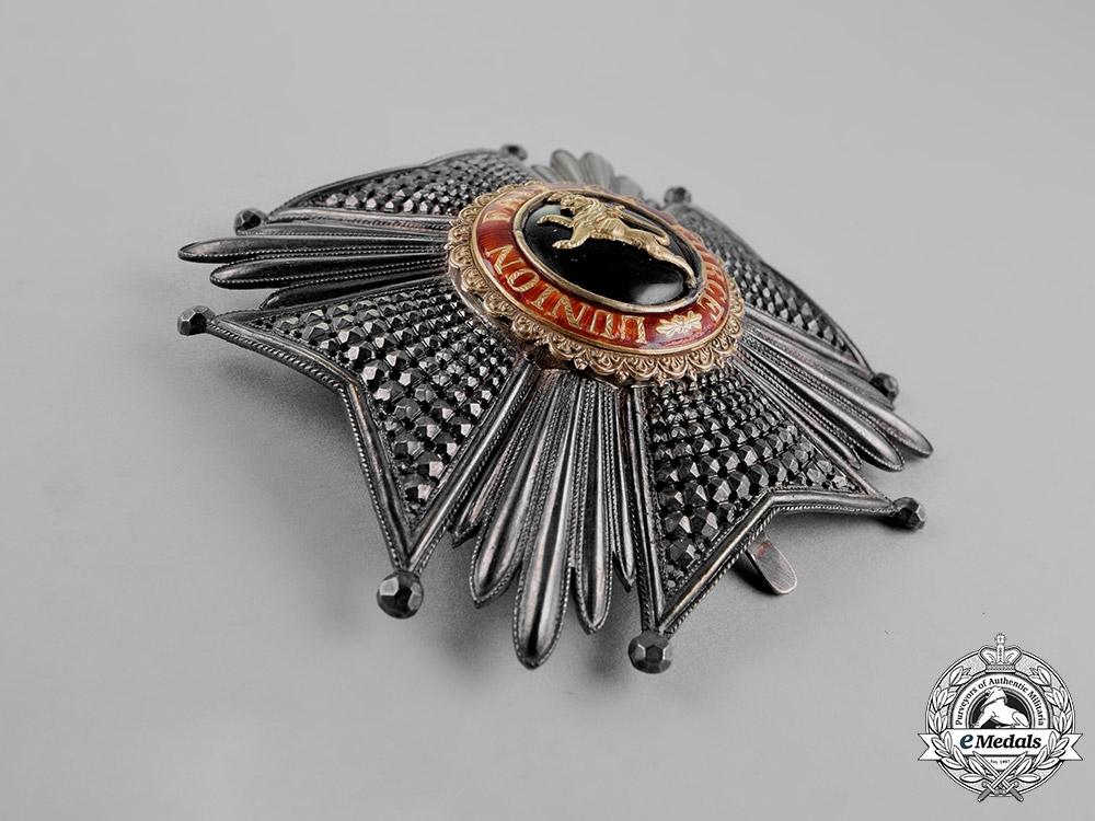 Belgium, Kingdom. An Order of Leopold, Grand Officer Star, c.1900