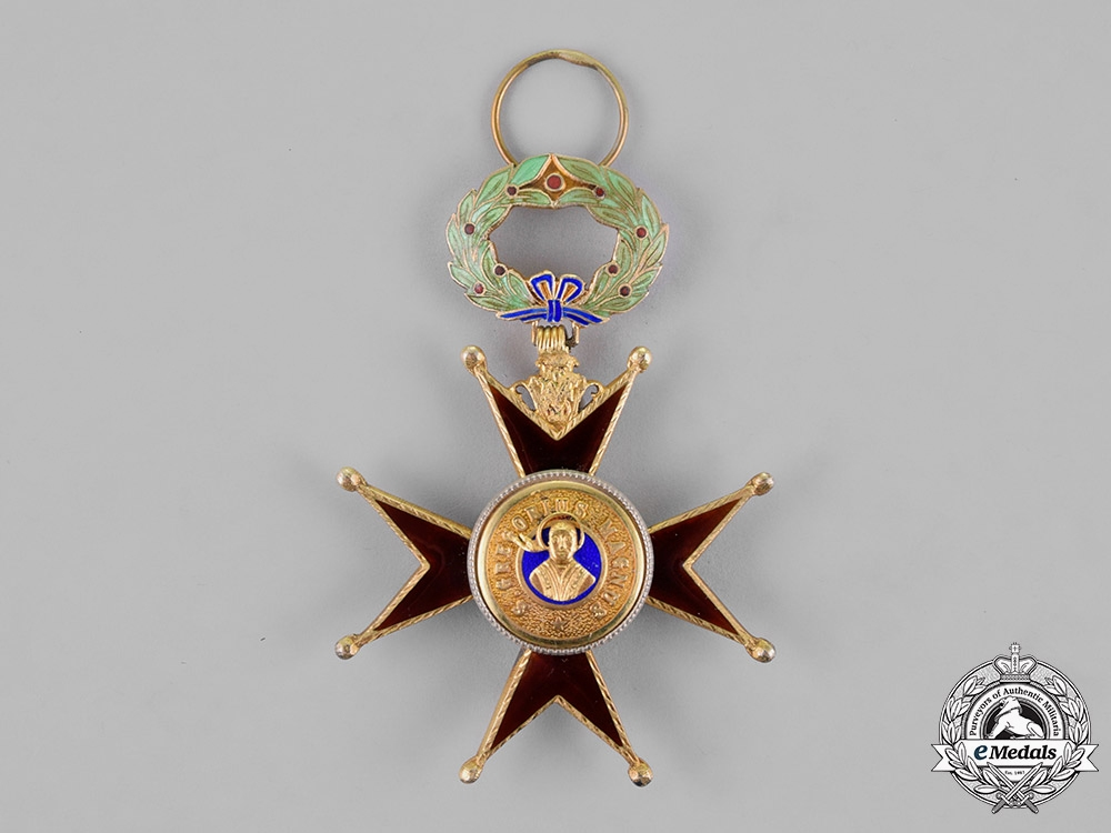 Vatican. A Pontifical Equestrian Order of St. Gregory the Great, Knight, Type II, Civil Merit