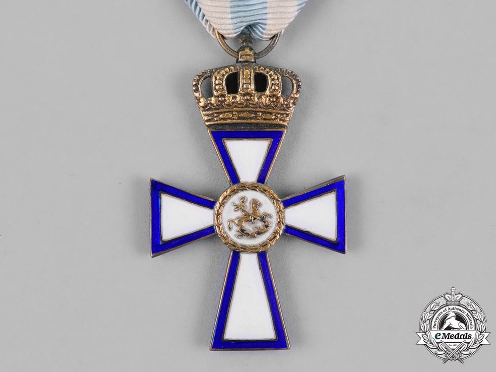 Greece. A Cross of Valour, Gold Grade Cross, 1st Class