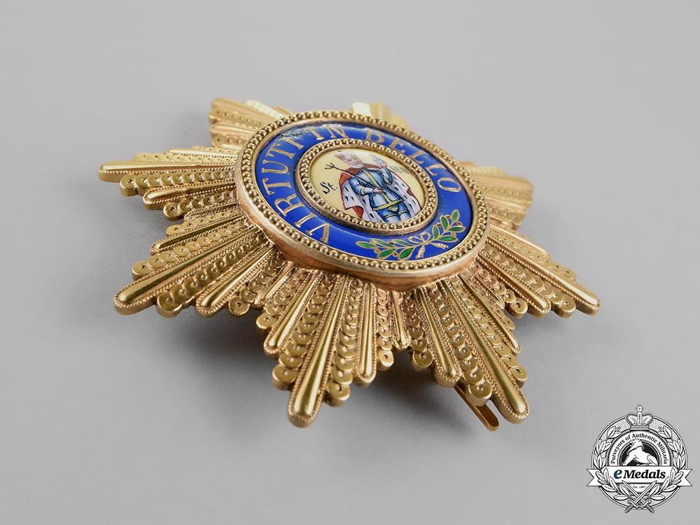 Saxony, Kingdom. A Military Order of St. Henry, Commander's Star, c.1914