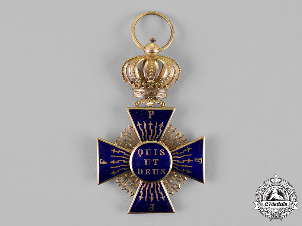 Bavaria, Kingdom. A Royal Merit Order of St. Michael in Gold, Second Class Knight, c.1860