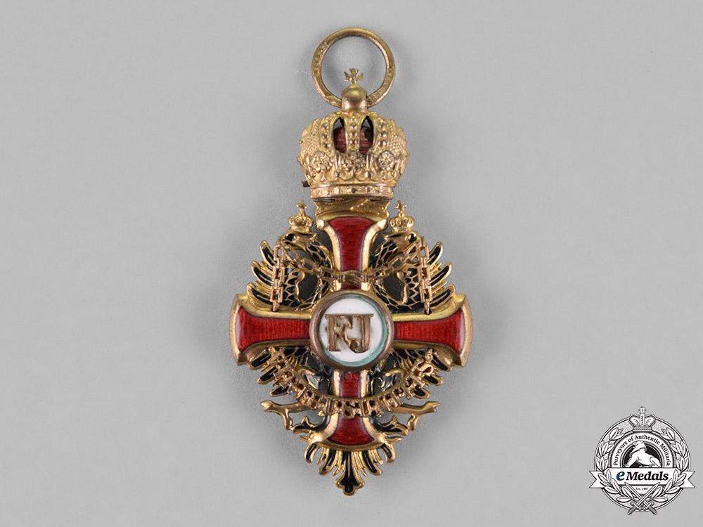 Austria, Empire. An Order of Franz Joseph, Knight's Cross, by Wilhelm Kunz, c.1917