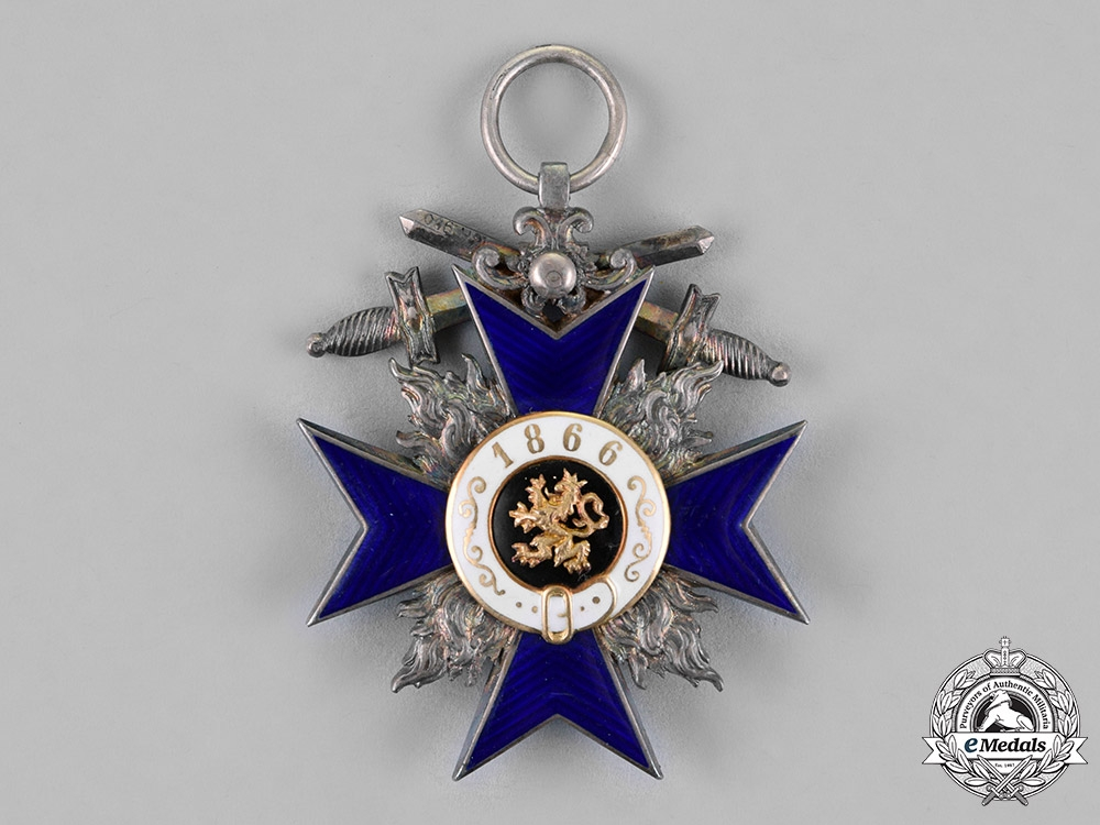 Bavaria, Kingdom. An Order of Military Merit, Fourth Class with Swords, by Gebrüder Hemmerle, c.1914