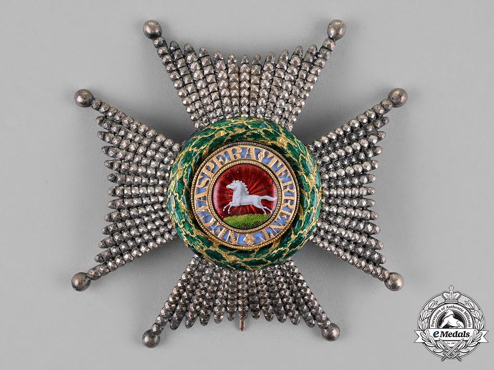 United Kingdom. A Royal Guelphic Order, K.C.H. (Civil) Knight Commander, by Salter Widdowson & Tate, c.1830