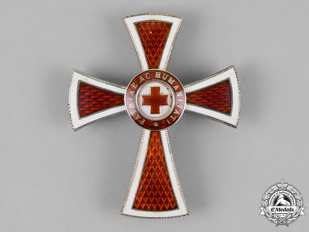 Austria, Empire. An Honour Decoration of the Red Cross, Officer Cross, by G.A. Schied, c.1910