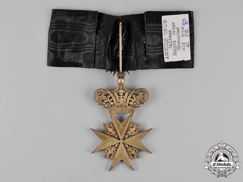 Austria, Imperial. An Order of the Knights of Mala, Commander Cross, Civil Division, by F. Rothe, c.1920