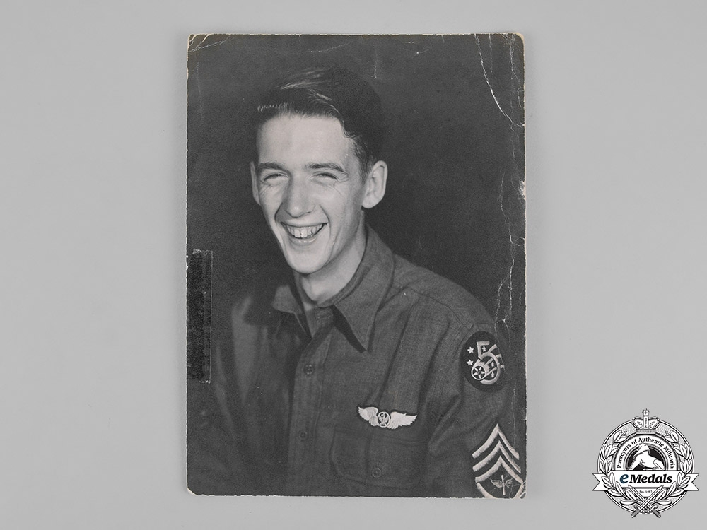 United States. A DFC to Staff Sergeant William E. Kelley, Jr., Aerial Photographer with the 5th Air Force, USAAF