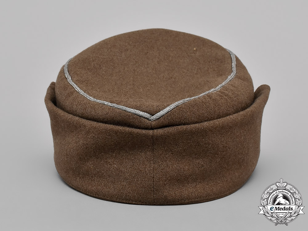 Germany, RAD. A National Labour Service Leader's M43 Style Field Cap, by August Schaltenberg