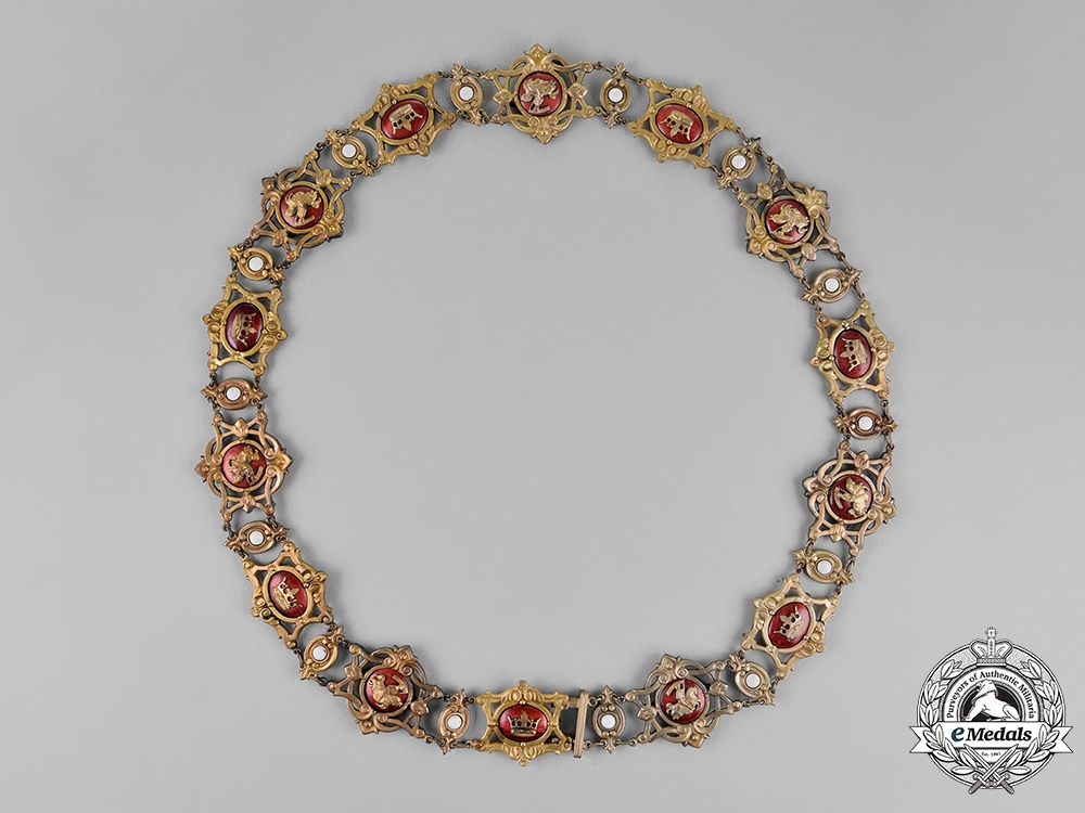 Baden, Grand Duchy. An Order of Berthold the First, Collar, c.1910