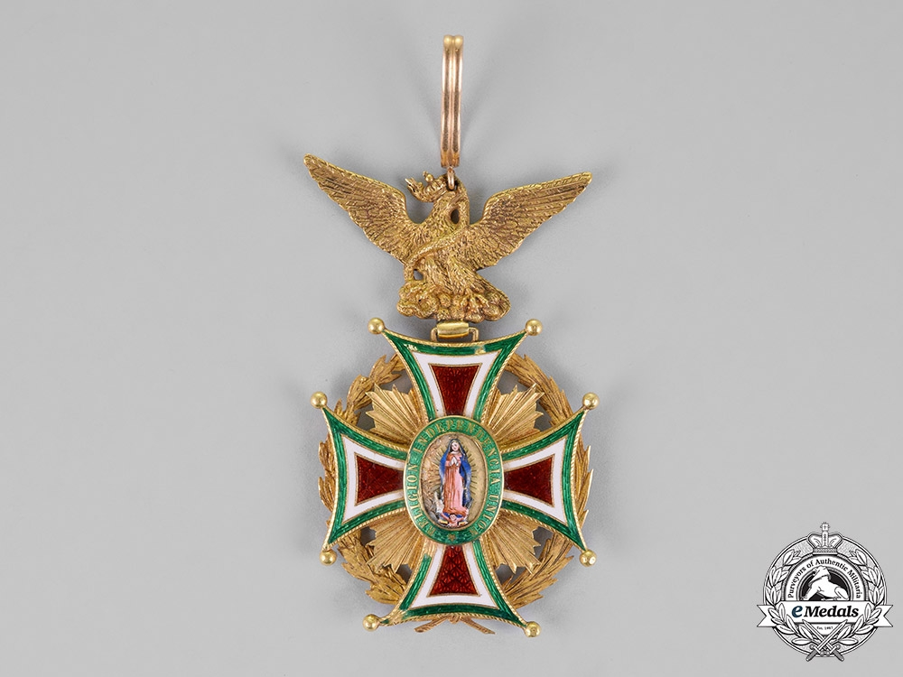 Mexico, Second Empire. An Order of Guadalupe in Gold, Grand Cross for Civil Merit c.1865