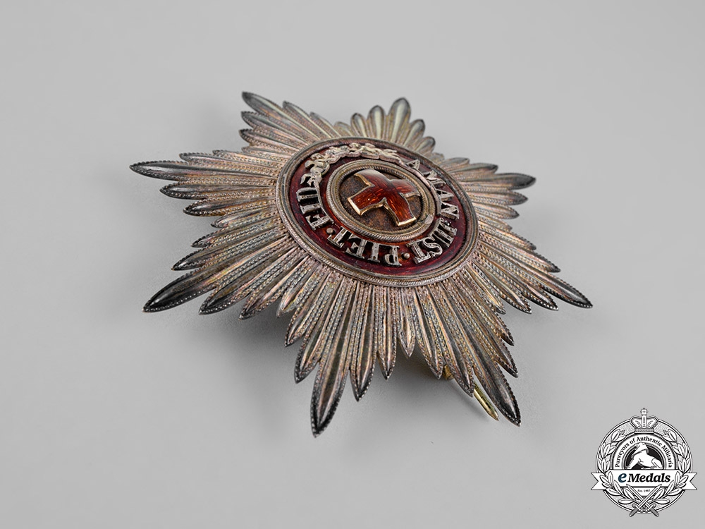 Russia, Imperial. An Order of Saint Anne, 1st Class Grand Cross Star, by Albert Keibel, c.1900