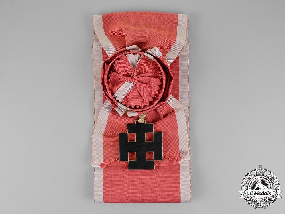 Austria, First Republic. An Order of Merit, Grand Cross Set, by Anton Reiterer of Vienna