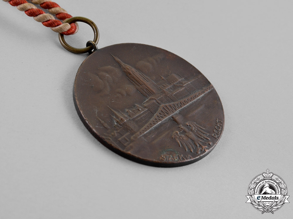 Germany, Republic. A Medal for the Singers of the Frankfurt Singer's Union