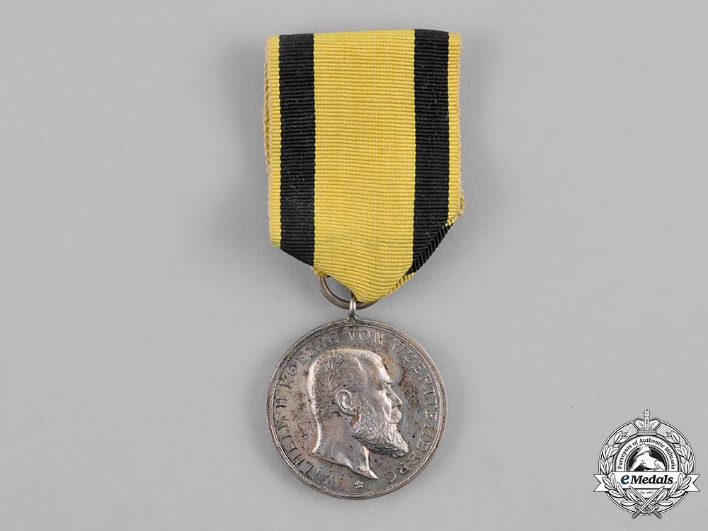 Württemberg, Kingdom. A Silver Military Merit Medal