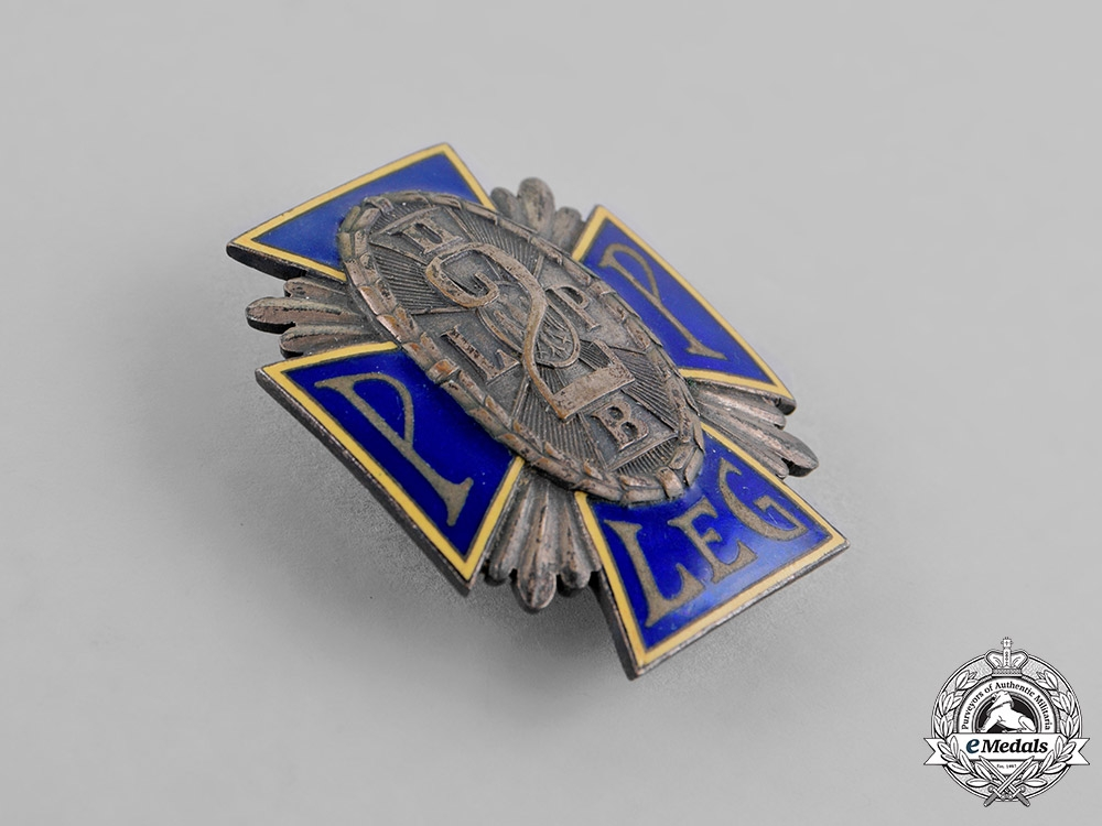 Poland, Republic. A 2nd Legion Infantry Regiment Badge