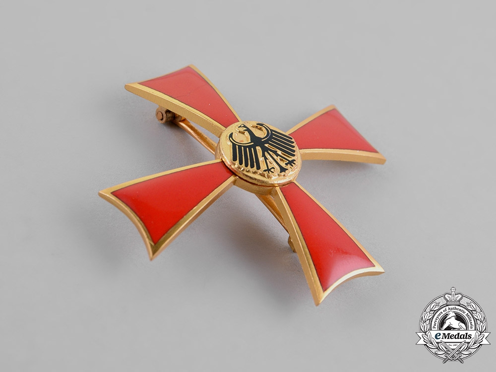 Germany, Republic. A Merit Order of the Federal Republic, Officer Cross with Boutonniere