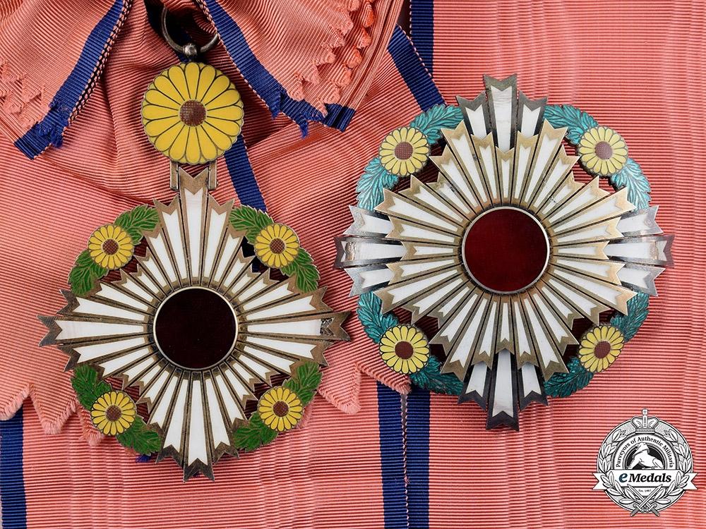 Japan Empire A Supreme Order Of The Chrysanthemum Grand Cordon C