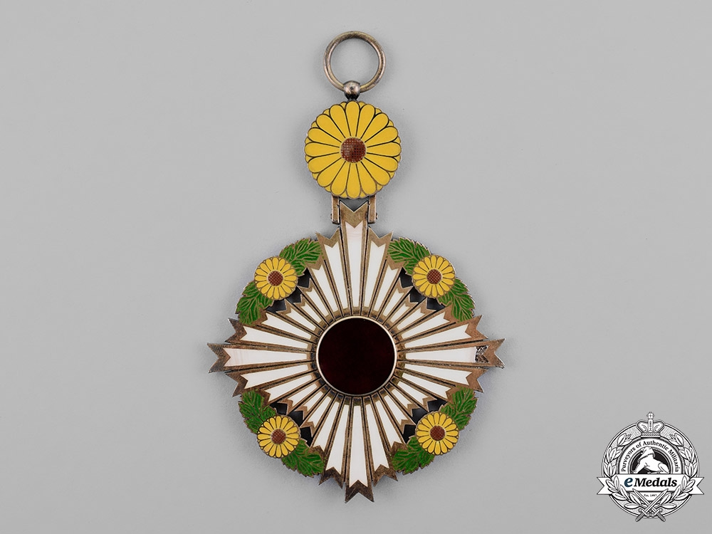Japan, Empire. A Supreme Order of the Chrysanthemum, Grand Cordon, c.1900