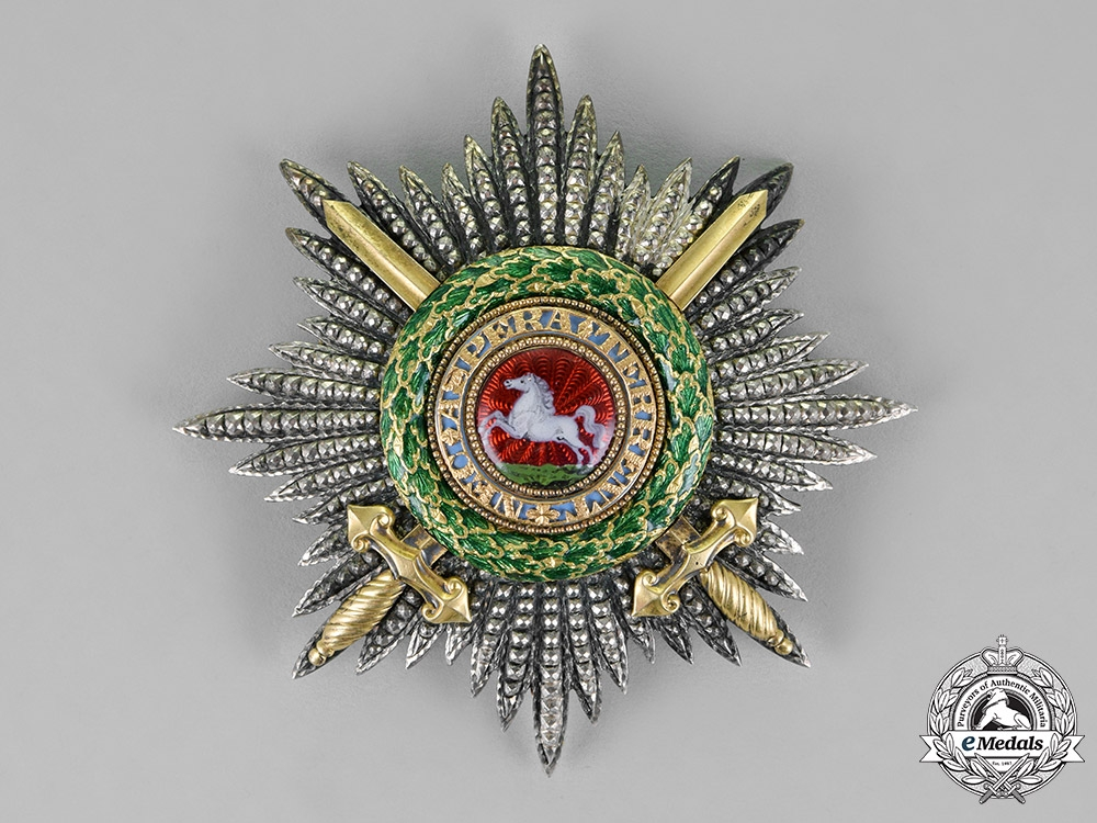 United Kingdom. A Royal Guelphic Order, (Military), Knight Grand Cross (GCH), by Hamlet, c.1830