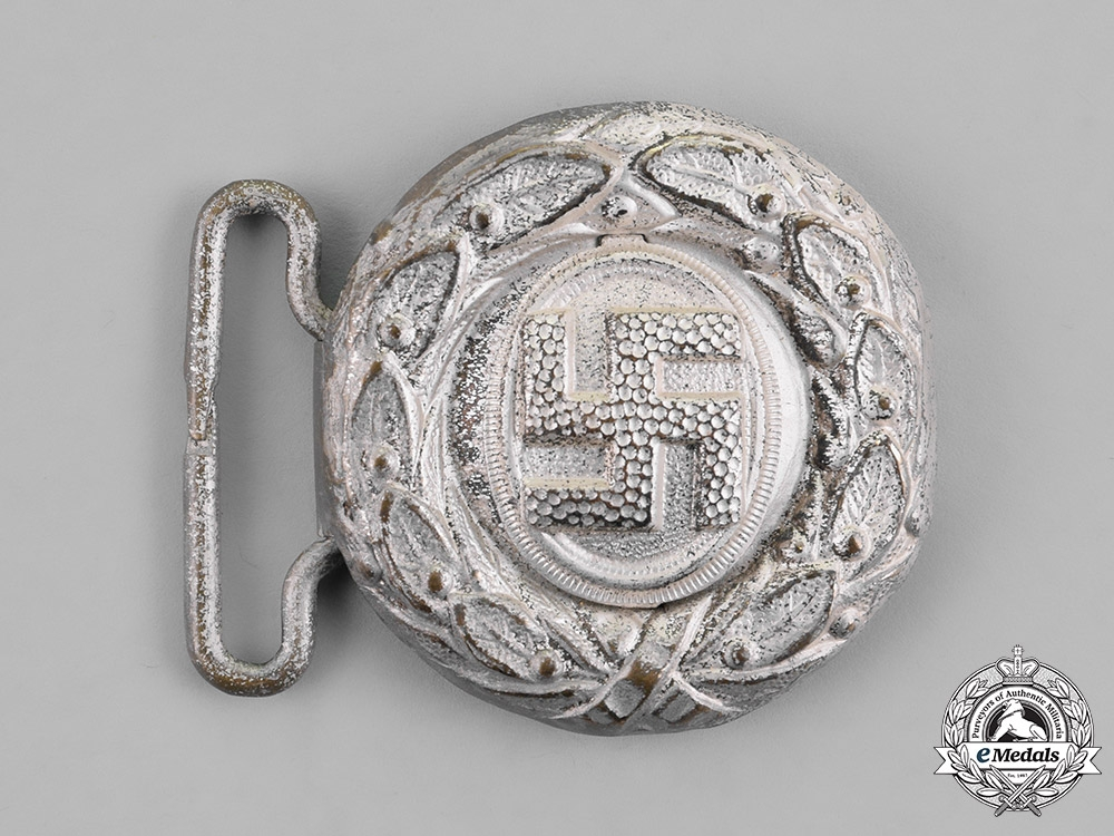 Germany, NSDAP. A NSDAP Youth Leader's Belt Buckle