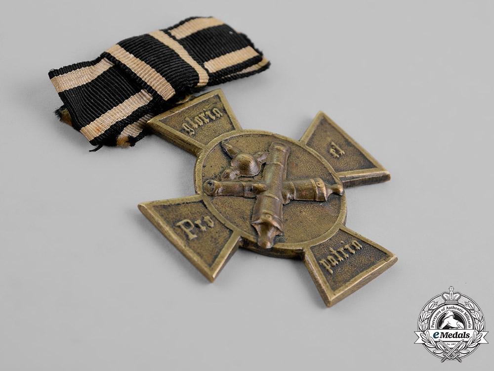 Prussia, State. An Artillery Veteran's Association Medal, c. 1879