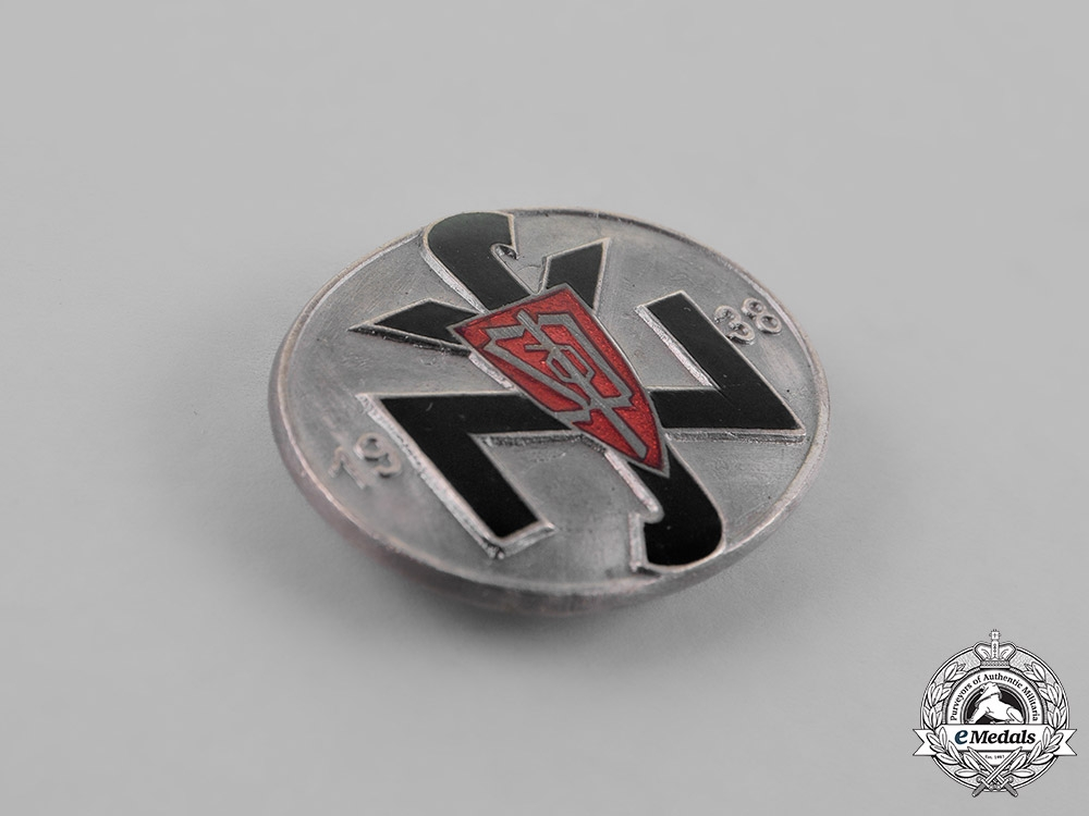 Germany. A Rare Czech National Socialist People's Welfare (NSV) Leader's Badge 1938