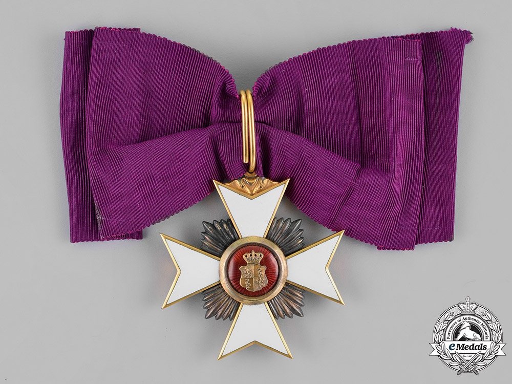 Reuss, County. A Princely Honour Cross in Gold, First Class, c.1910