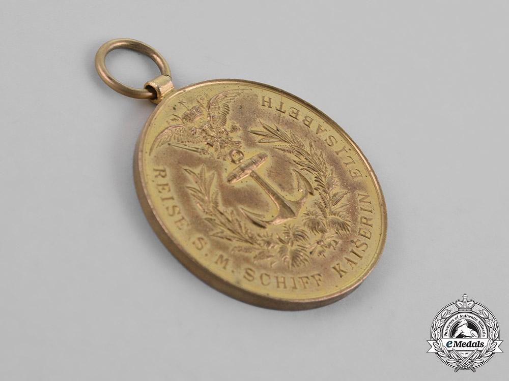 Austria, Empire. A Commemorative Sea Travel Medal, c.1894
