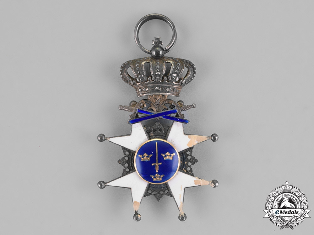 Sweden, Kingdom. An Order of the Sword, 2nd Class Knight, c.1914