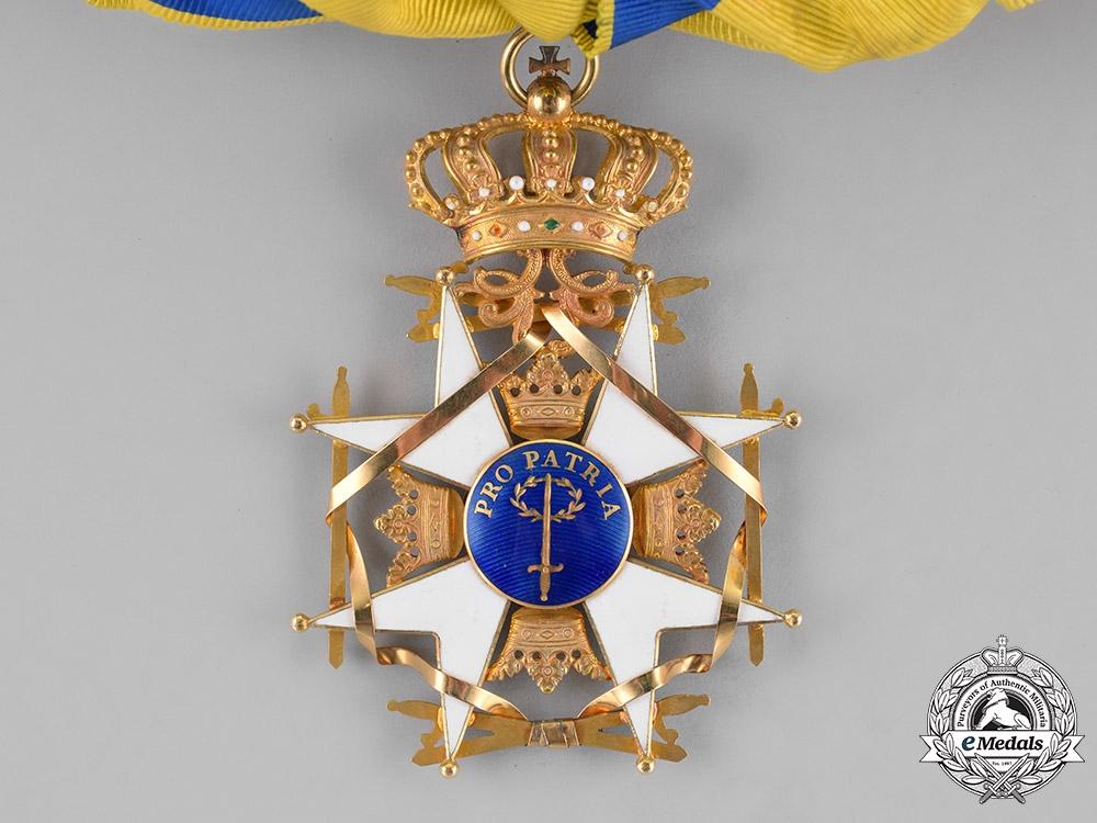 Sweden, Kingdom. An Order of the Sword, I Class Grand Cross, c.1900
