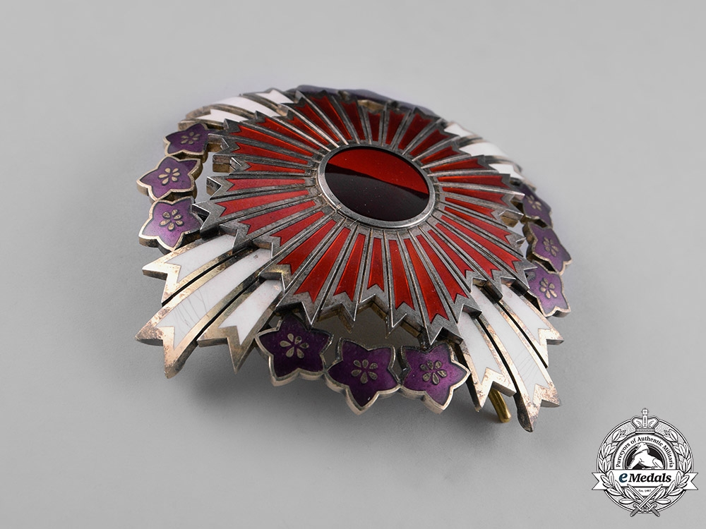 Japan, Empire. An Order of the Paulownia Flowers, Grand Cordon, c.1900