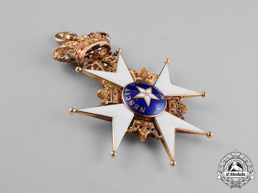 Sweden, Kingdom. An Order of the North Star, 1st Class Grand Cross (KmstkNO), c.1915