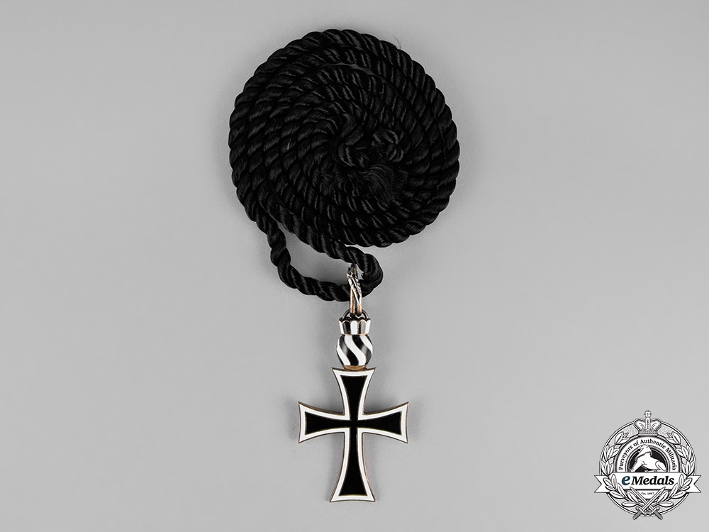 Austria, Empire. An Order of the German Knights, Priest Cross, c.1930
