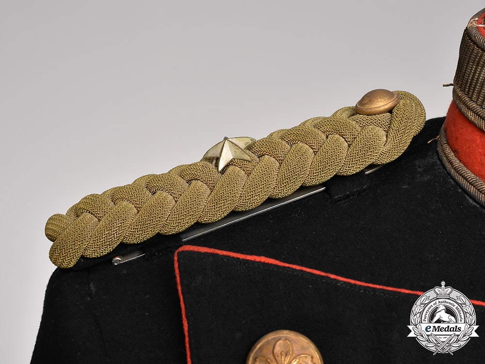Japan, Imperial. A First Sino-Japanese War Parade Tunic, by Kaikosha, c.1895