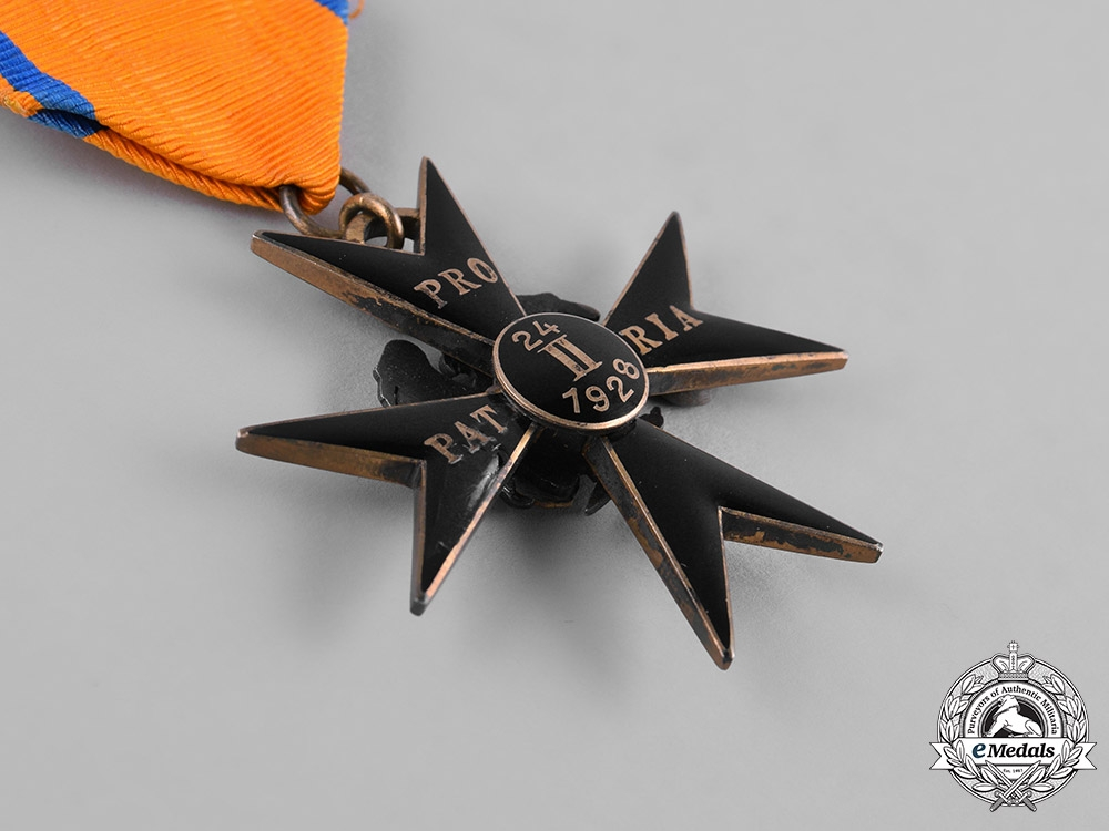 Estonia, Republic. An Order of the Cross of the Eagle, IV Class
