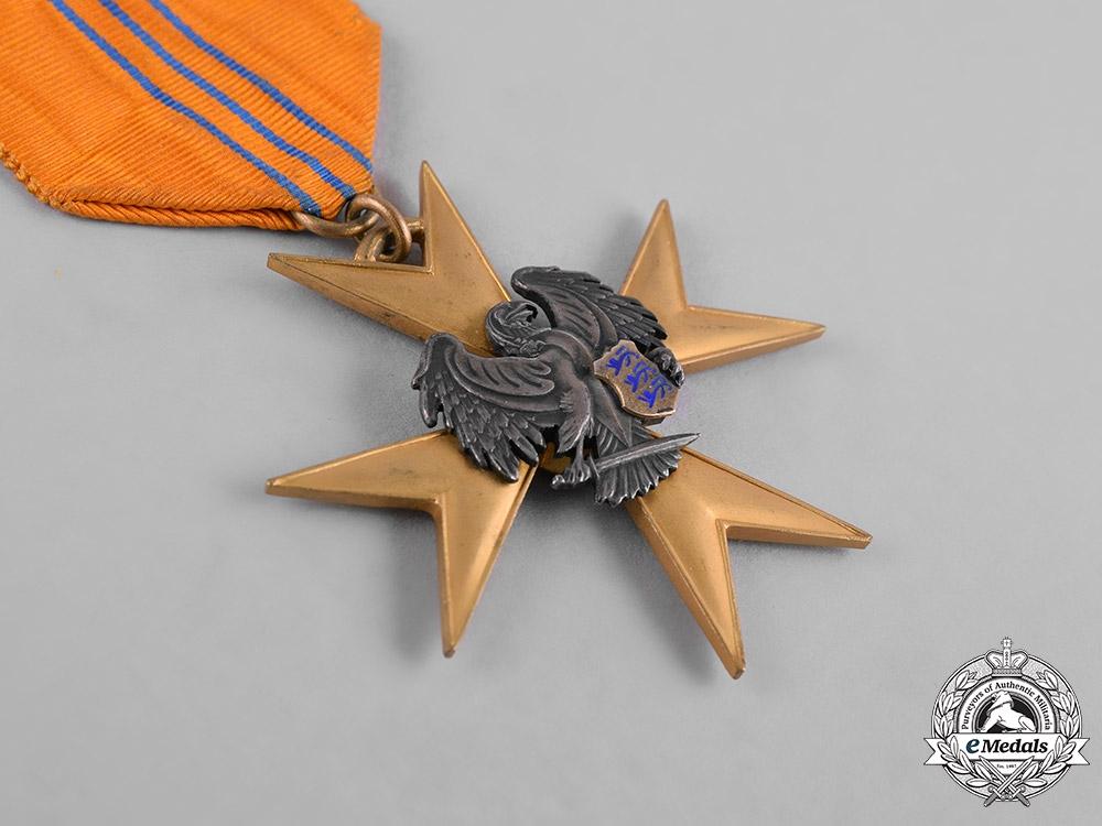 Estonia, Republic. An Order of the Eagle Cross, Gold Cross