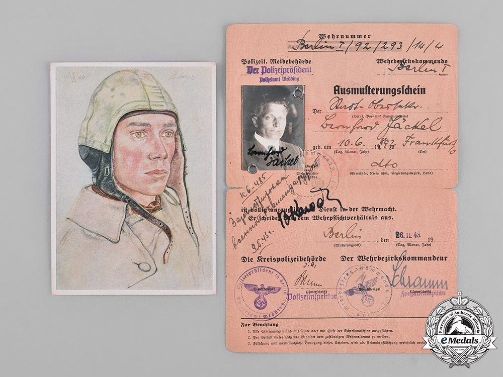 Germany, Third Reich. A Collection of Second War Period Correspondence