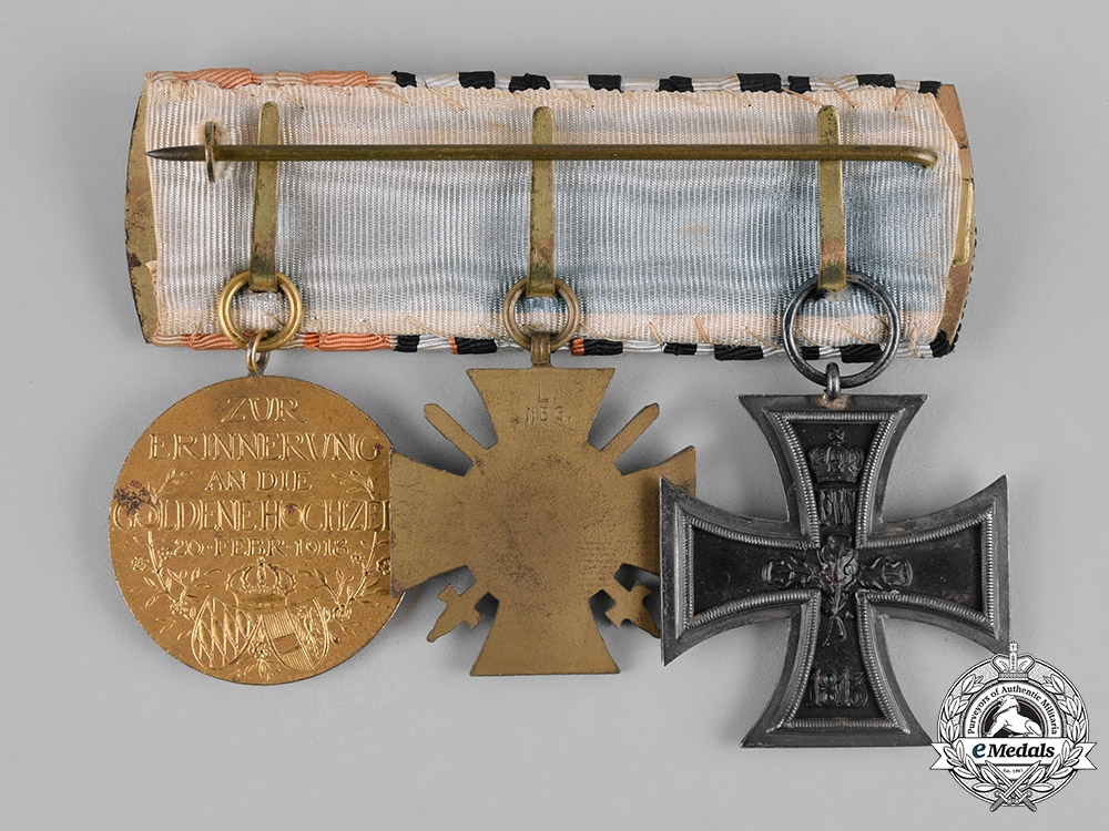 Germany, Imperial. A First War Medal Bar