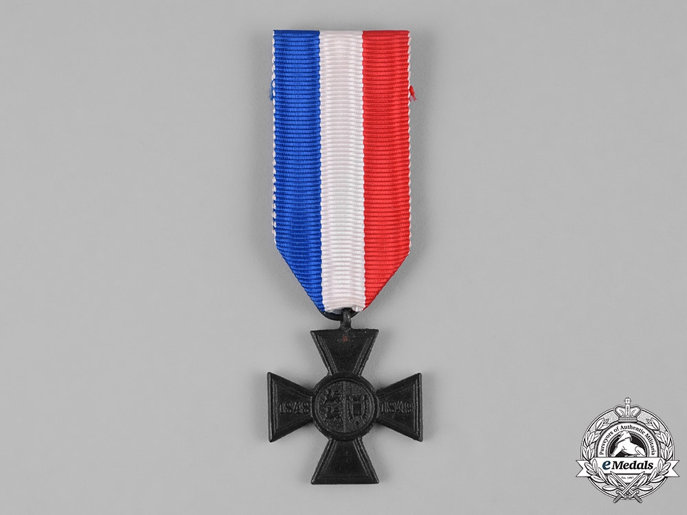 Schleswig Holstein A Commemorative Cross For The War Years Of