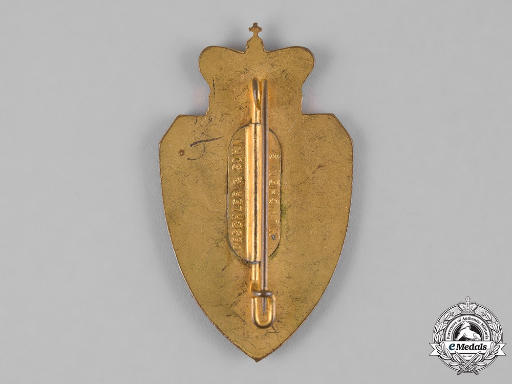 Germany, Weimar. A Bavarian War Veterans Association Member's Badge by Deschler & Sohn