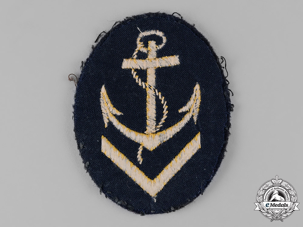 Germany, Kriegsmarine. An Obermaat Sleeve Insignia