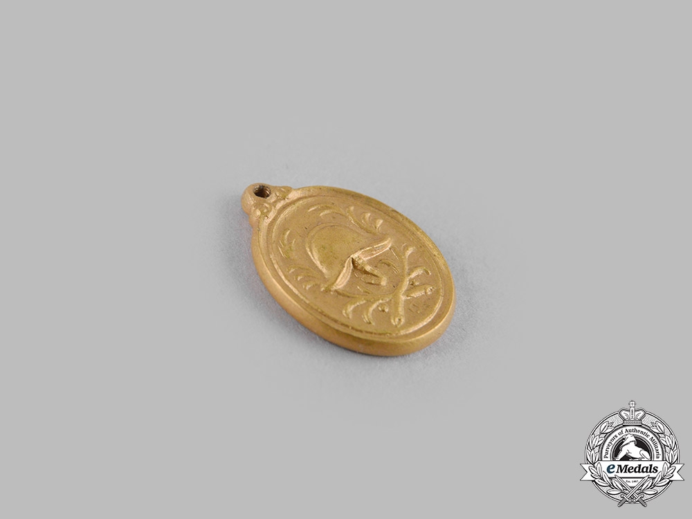 Germany, Weimar. A Bavarian Fire Brigade 40-Year Long Service Medal with Miniature, c.1933