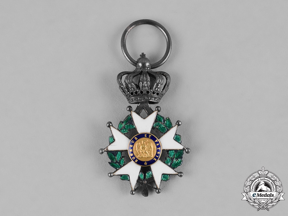 France. II Empire. An Order of the Legion of Honour, Miniature Knight Cross, c.1870