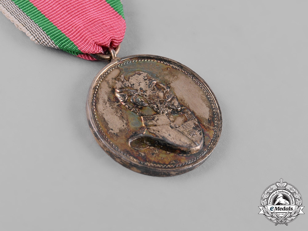 Anhalt, Duchy. A Golden Medal for the 25th Jubilee of Duke Friedrich I, c.1900